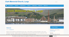 Preview of clarkmemorial.org.uk